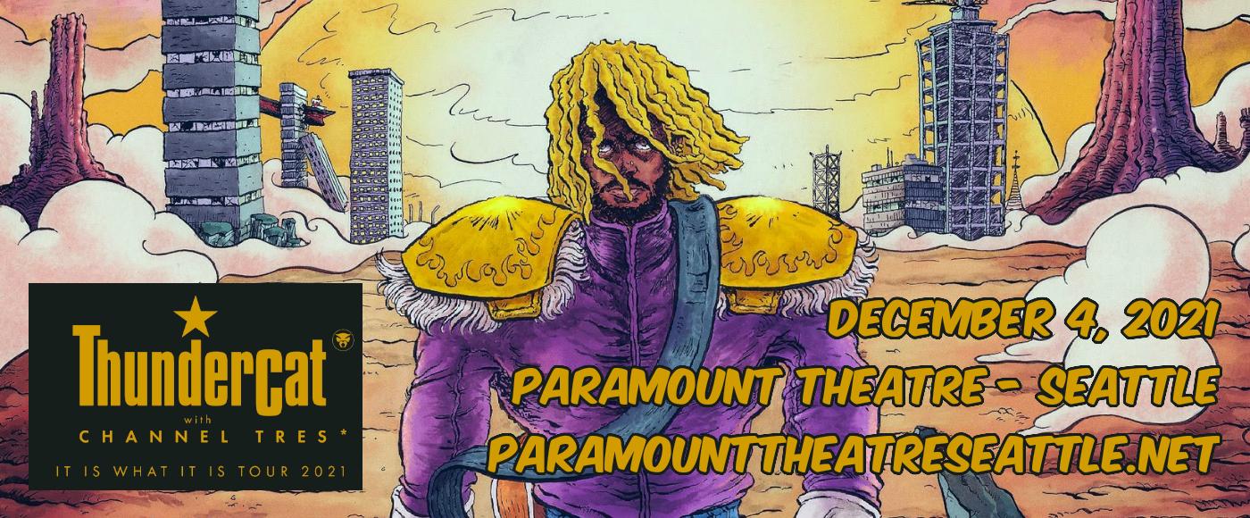 Thundercat at Paramount Theatre Seattle