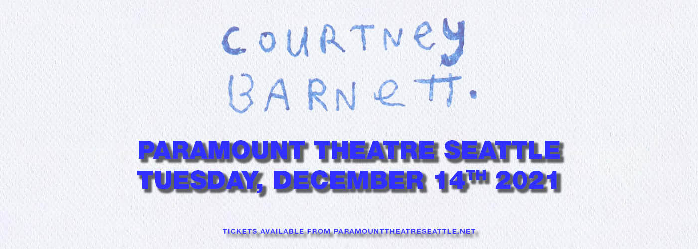 Courtney Barnett at Paramount Theatre Seattle