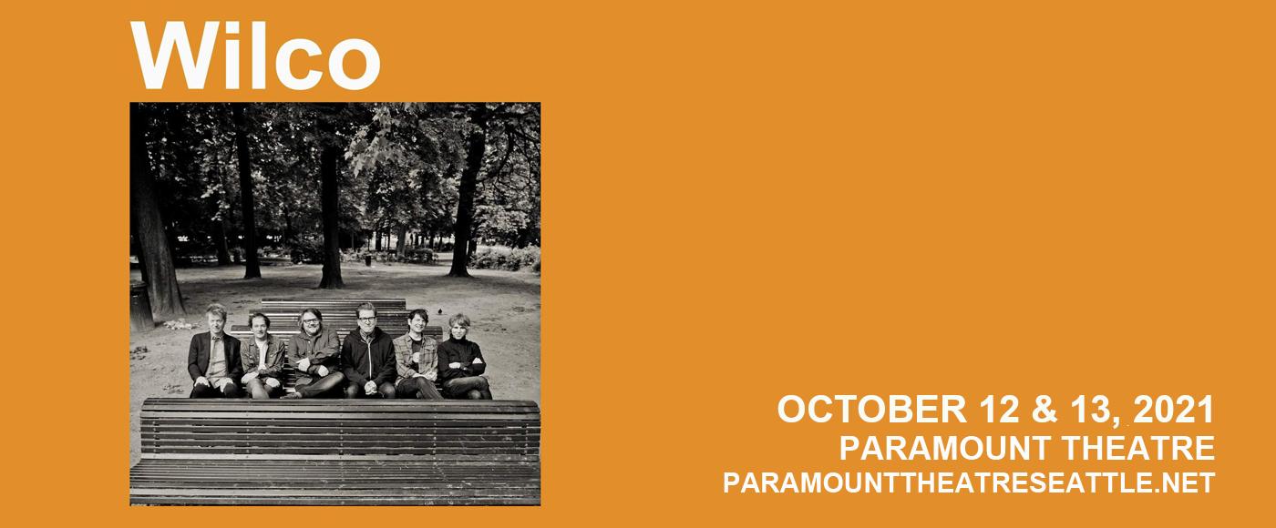 Wilco at Paramount Theatre Seattle